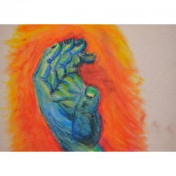 Hand of God (Original Artwork)