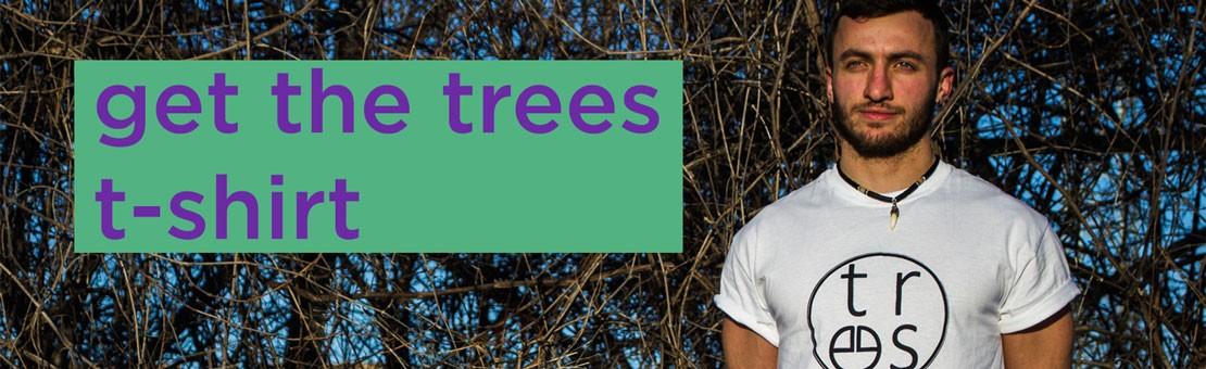 get the trees t-shirt unisex